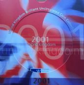 2001 Brilliant Uncirculated Coin Collection